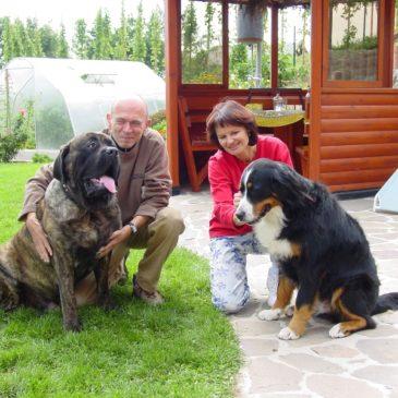 Dr. Janez Drnovšek in Brodie na Katarini