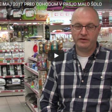PRED ODHODOM V PASJO MALO ŠOLO