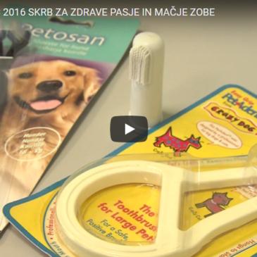 Skrb za zdrave pasje in mačje zobe