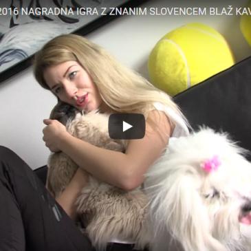 Nagradna igra z znanim Slovencem Blaž Kavčič