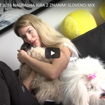 Nagradna igra z znanimi Slovenci – Mix