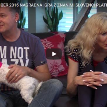 Nagradna igra z znanimi Slovenci – Platin