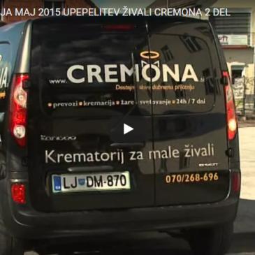 Upepelitev živali – Cremona, drugi del