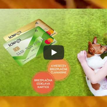 Priporočamo – Sberbank Ideal kartica