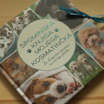 Priporočamo: Spominska knjiga mojega kosmatinčka